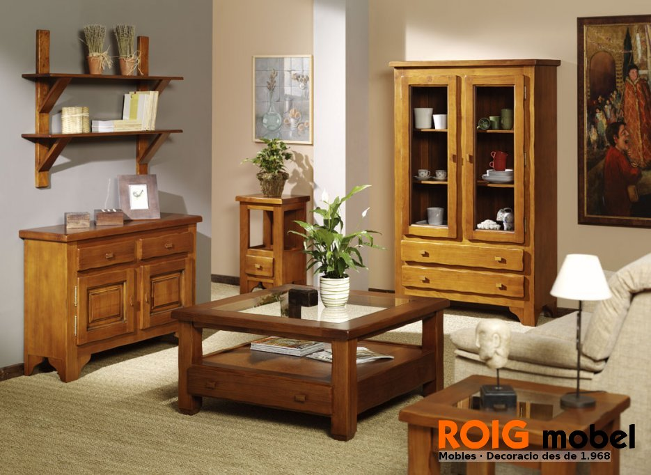 Comedores r stico mueble r stico y provenzal - Fotos muebles rusticos ...