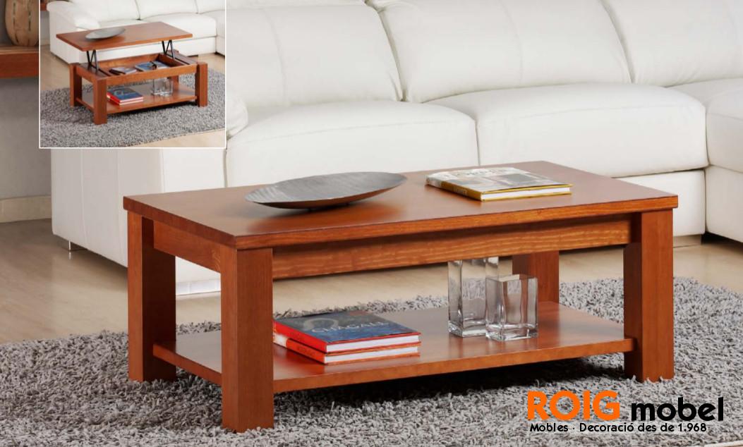 25 1 mesas centro r sticas mueble r stico y provenzal for Centro comercial el mueble catalogo