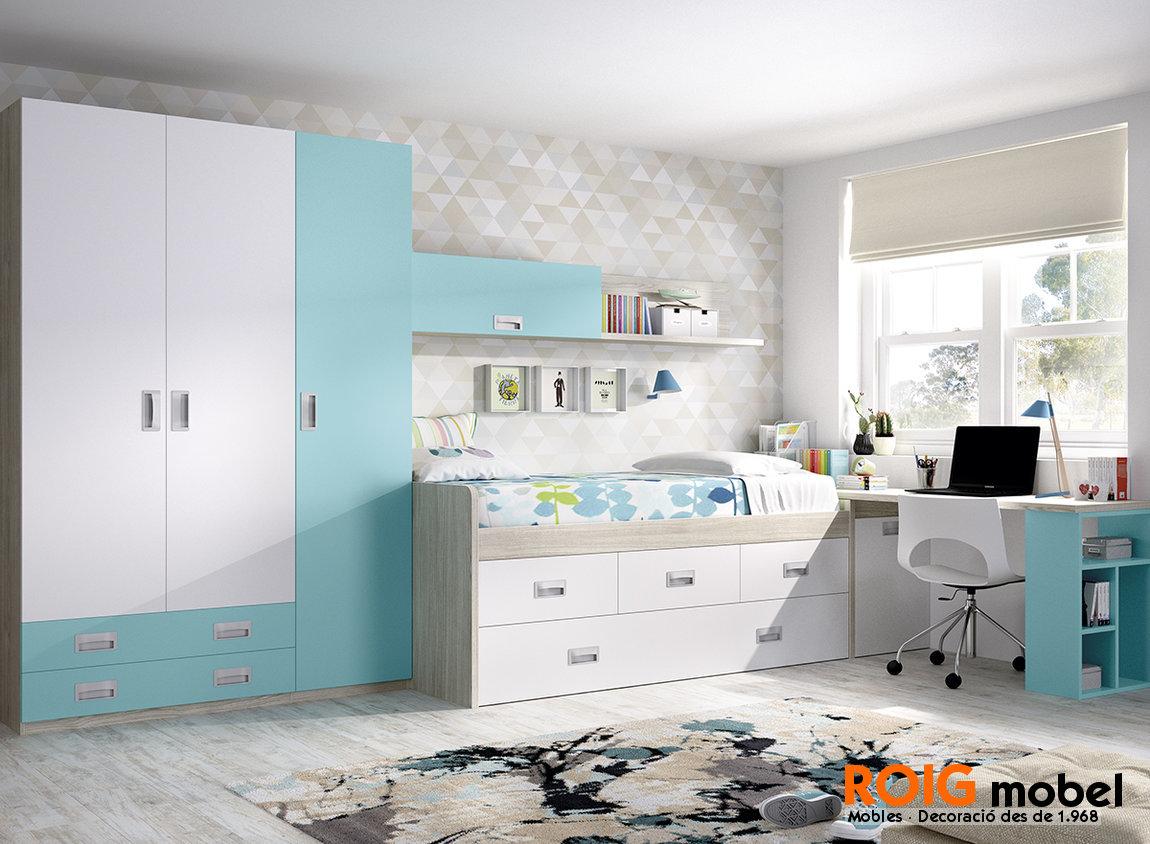 3 2 compactos dormitorios juveniles catalogo - Dormitorios juveniles compactos ...