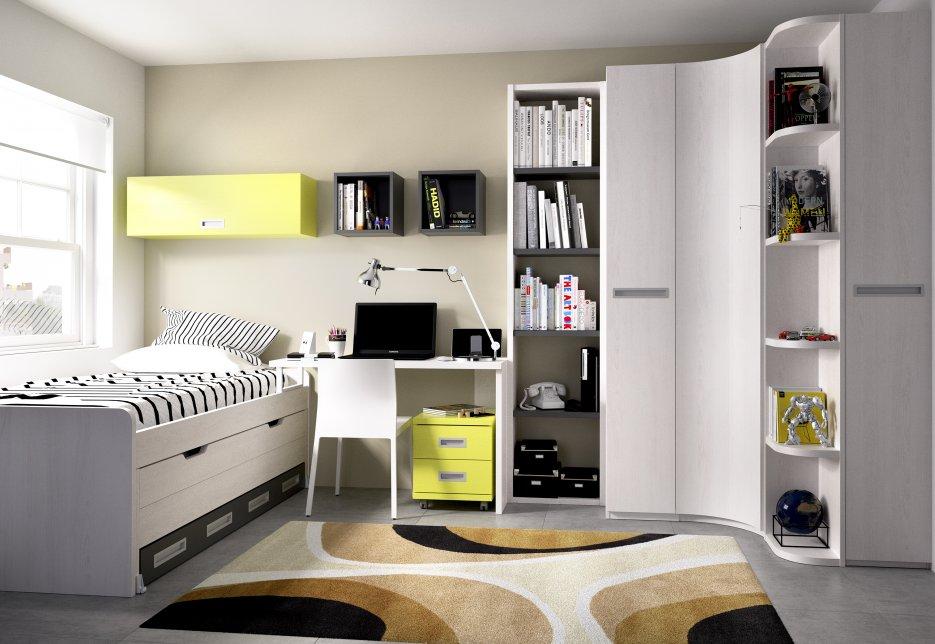 Armarios rinconeros juveniles armarios y vestidores for Sofas para habitaciones juveniles
