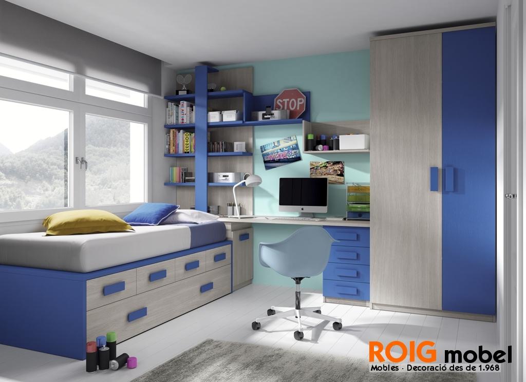 50 1 camas compactos dormitorios juveniles catalogo - Dormitorios juveniles compactos ...