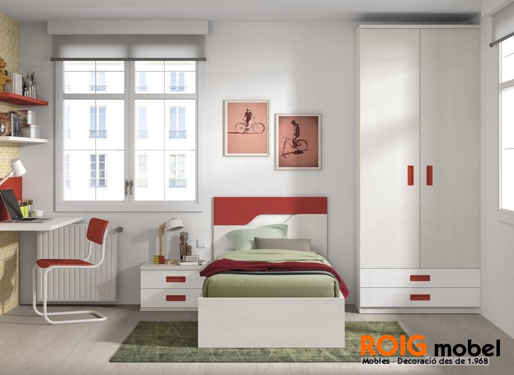50 1 camas individuales dormitorios juveniles catalogo for Camas individuales juveniles