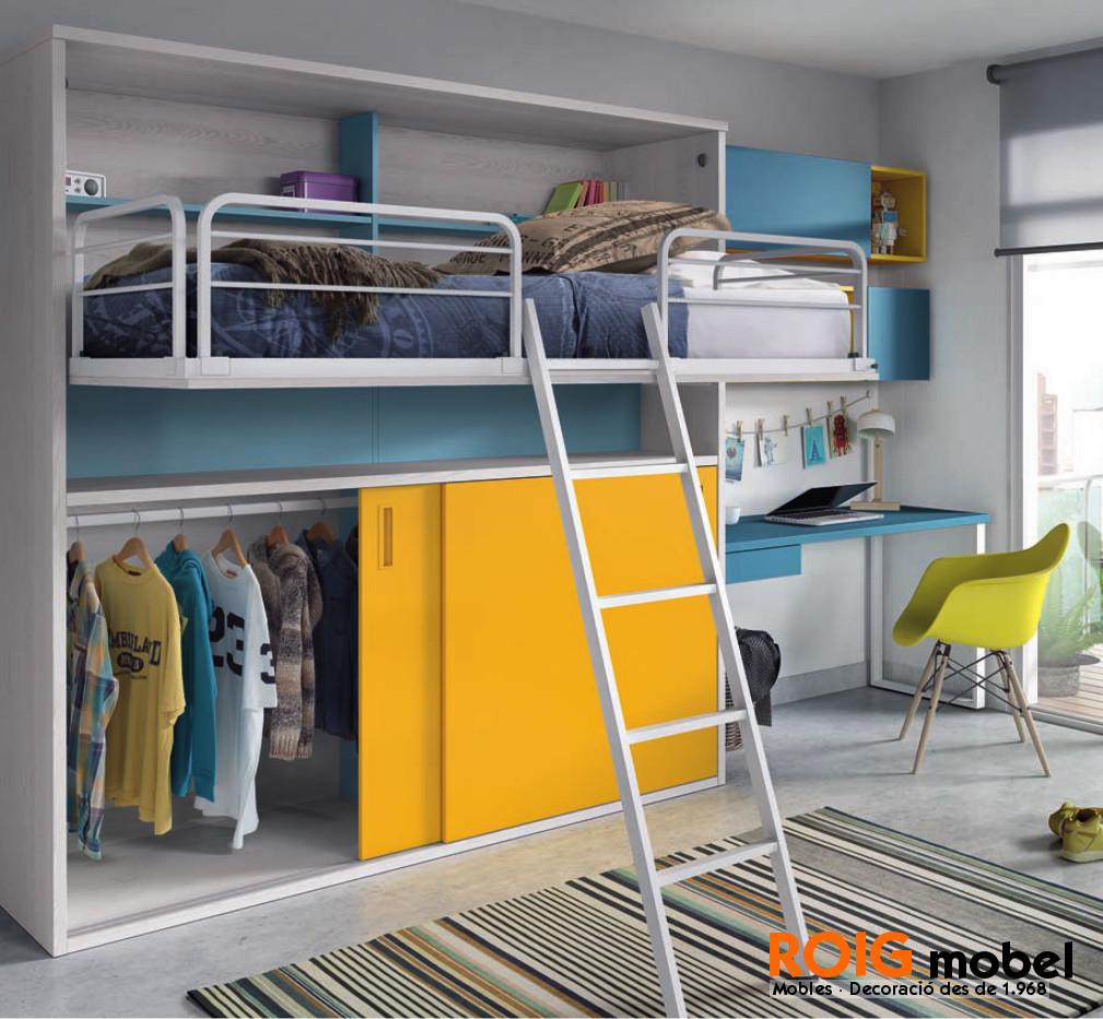 6 16 Camas Abatibles Dormitorios Juveniles Catalogo # Muebles Roig Granollers