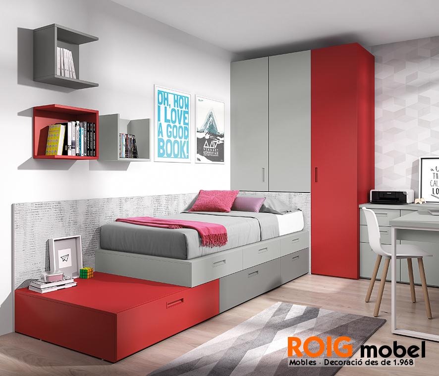 Camas bloc dormitorios juveniles catalogo for Catalogo de camas