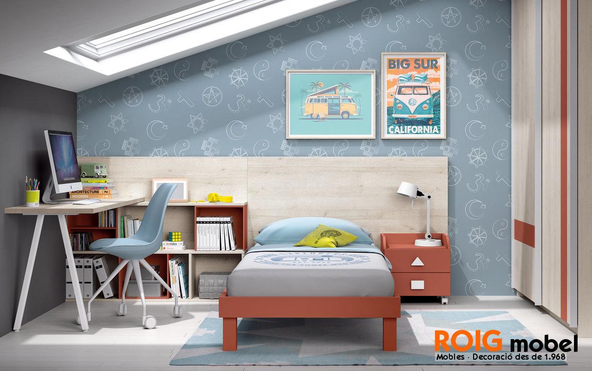 9 1 nuevas camas junior dormitorios juveniles catalogo - Dormitorios infantiles valencia ...