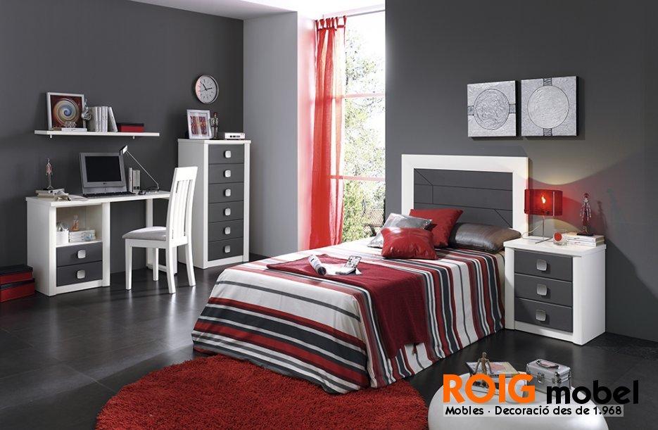 Dormitorios de matrimonio y juveniles mueble r stico y - Dormitorios juveniles rusticos ...