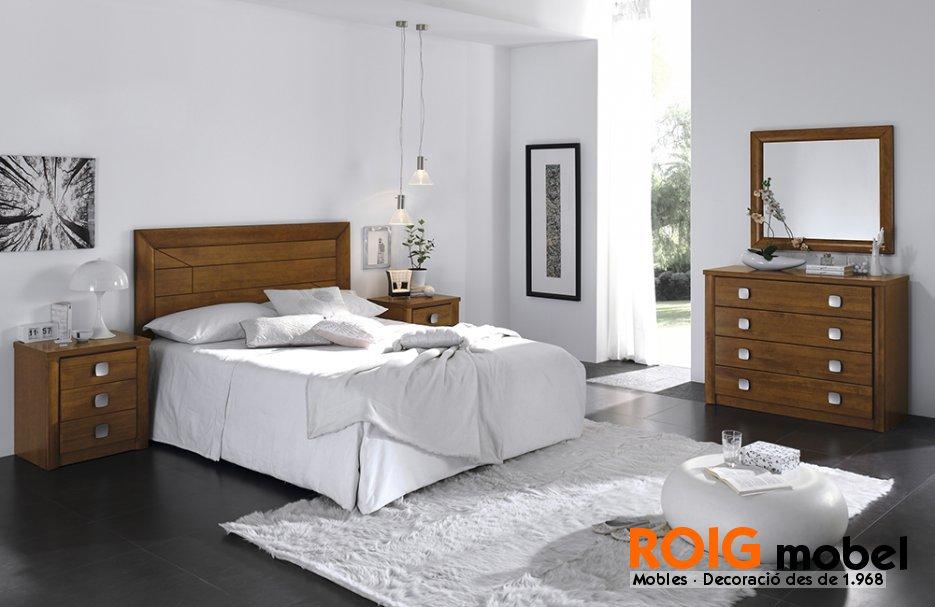 Dormitorios de matrimonio y juveniles mueble r stico y - Dormitorios rusticos juveniles ...