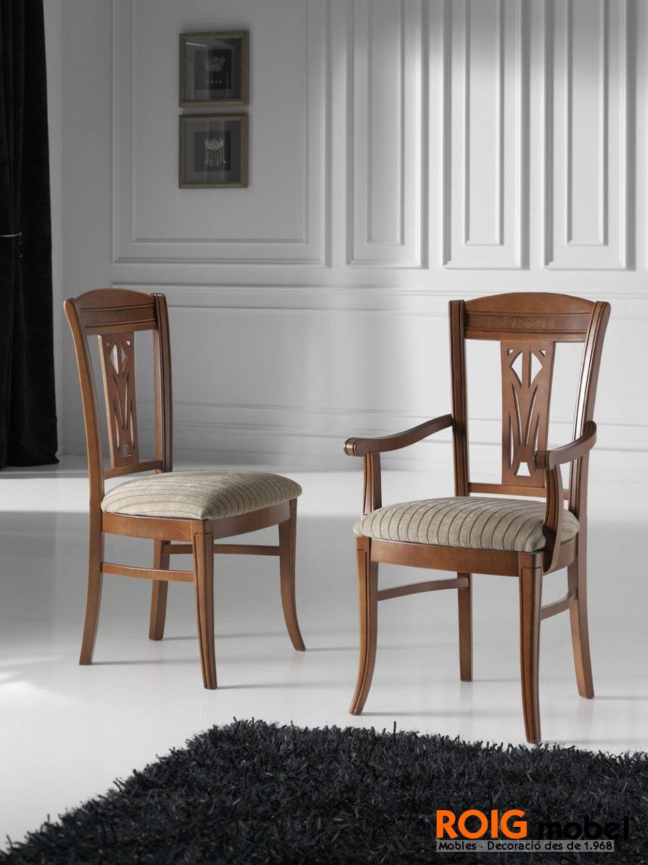 Sillas estilo cl sico sillas y taburetes catalogo - Sillas estilo colonial ...