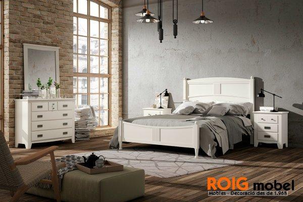 22 5 dormitorios acogedores mueble colonial catalogo for Nuevo estilo dormitorios matrimonio