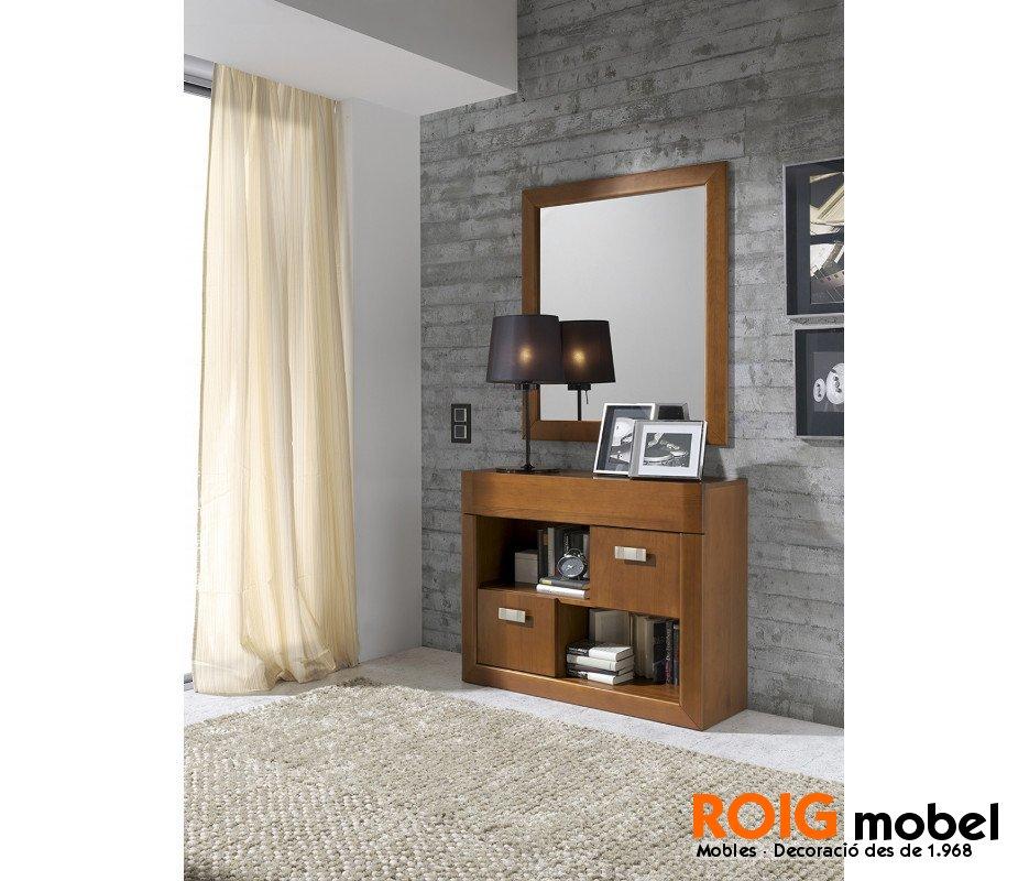 Auxiliar r stico moderno mueble r stico y - Mueble rustico moderno ...