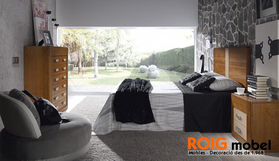 Dormitorio r stico moderno mueble r stico y - Dormitorio rustico moderno ...