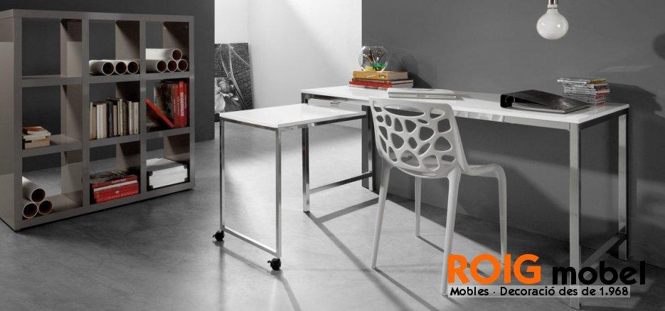 Mesas de oficina muebles de despacho catalogo for Muebles de oficina catalogo