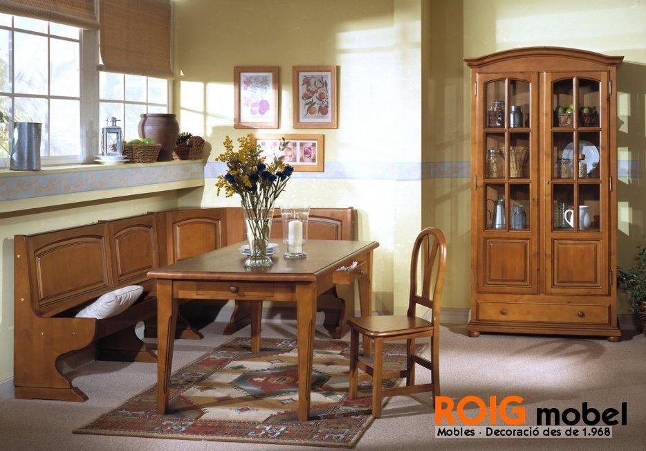 24 4 comedores provenzal mueble r stico y provenzal for Outlet muebles rusticos